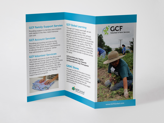 Goodwill Volunteer & Farm Services Marketing Design