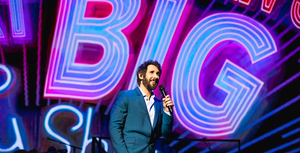 Josh Groban at Radio City - February 14.