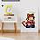 Thumbnail: 8-Bit Mario Pixel Poster Print