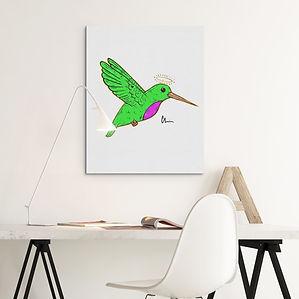 mockup-of-an-art-print-on-a-minimalist-s