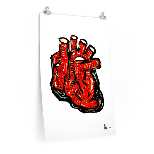 Wild Heart Poster Print