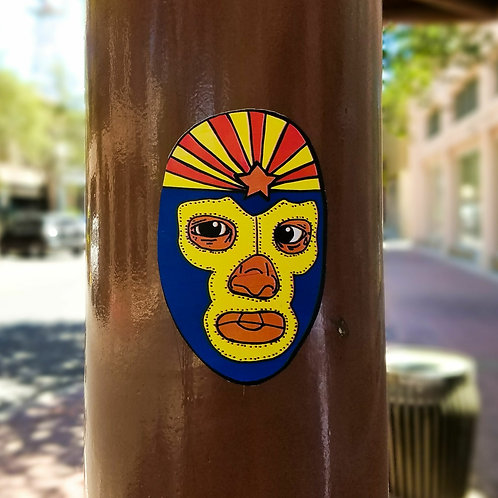 Lucha Libre Sticker