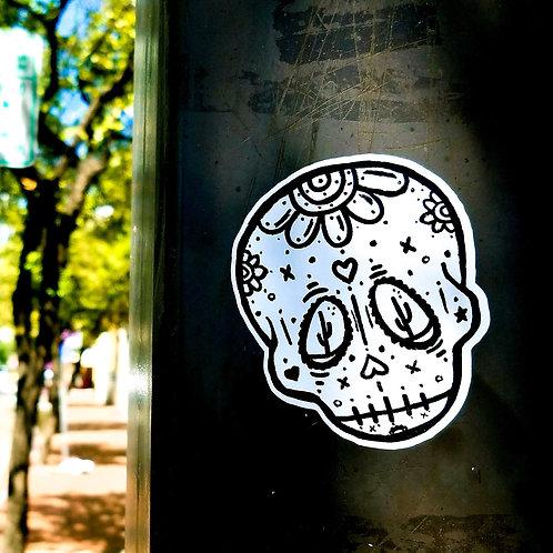 Sonoran Sugar Skull Sticker