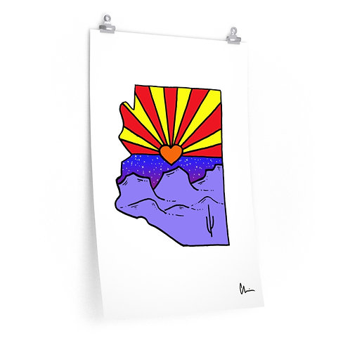Arizona State of Mind Poster Print