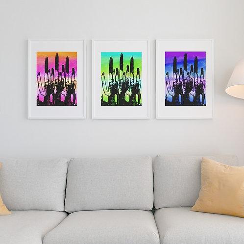 Saguaro Daydream Print Set