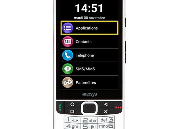 Téléphone adapté aux déficients visuels SmartVision 2