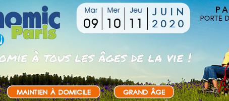 Salon Autonomic Paris les 9, 10 et 11 juin 2020