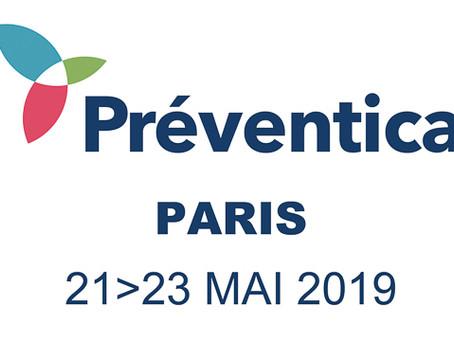 Défi*ergo sur le salon Préventica Paris du 21 au 23 mai 2019