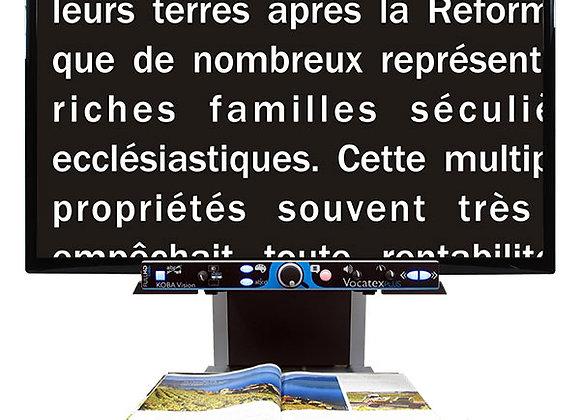 Téléagrandisseur et appareil de lecture Vocatex Plus