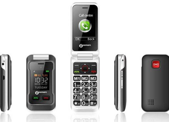GSM amplifié avec double écran et appareil photo