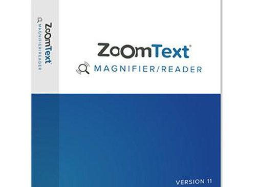 Logiciel vocal de grossissement d''écran ZoomText Magnifier/ ScreenReader pour aveugle