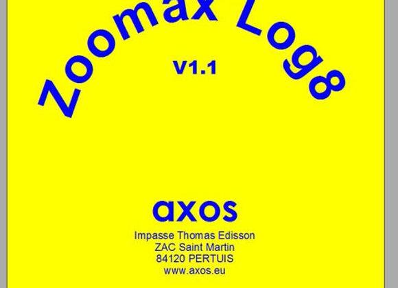 Logiciel d'aide visuelle Zoomax Log 8