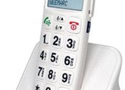 Téléphone sans fil amplifié avec aide vocale