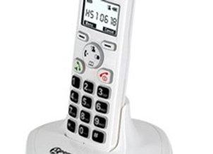 Téléphone sans fil, amplifié, à grosses touches