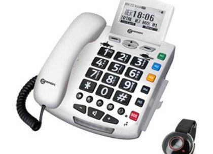 Téléphone multifonctions avec télécommande d'appel d'urgence