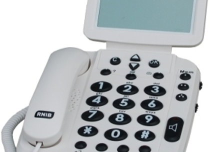 Geemarc BDP400 -Téléphone amplifié large écran