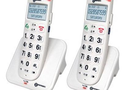 Téléphones sans fil amplifié avec aide vocale