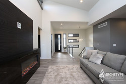 Model Home - Living Space