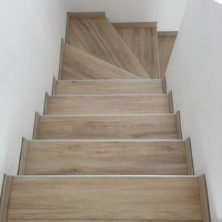 escalier realisation eco pose
