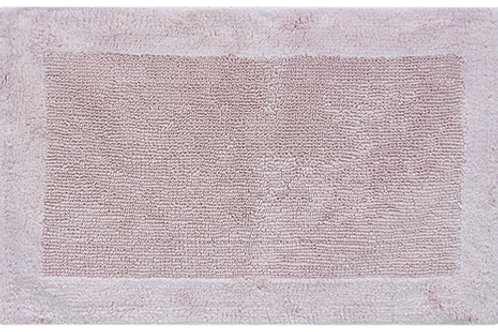 Egyptian Cotton Outside Border Bath Rug - Blush