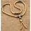 Thumbnail: Tibetan brass bead necklace