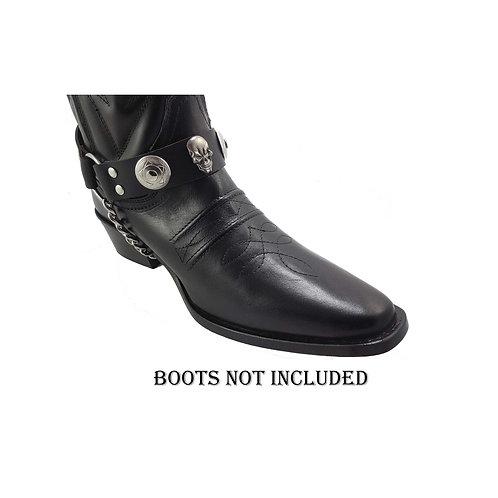 Bkull boot straps