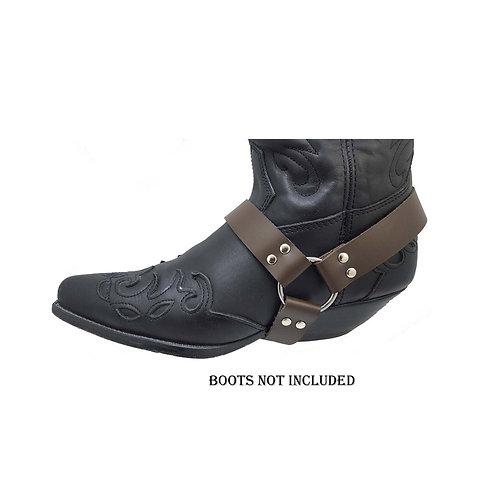 Cowboy boot straps
