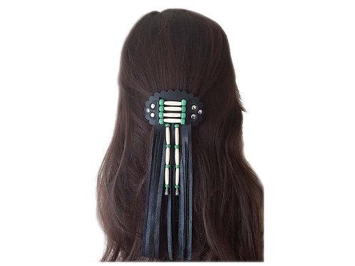 Native American hair clasp