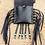 Black leather medicine bag