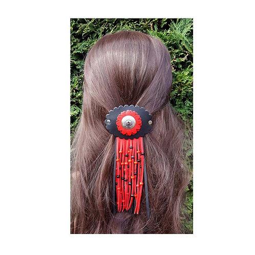 Native American hair jewelry