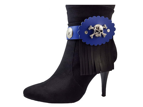 Royal blue boot bracelets