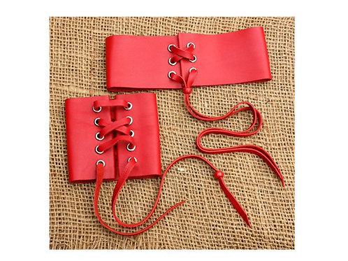 Red leather gift