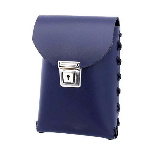 Lockable belt pouch