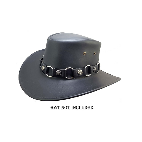 Concho hat band