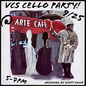 Cello Party @ Arte Cafe