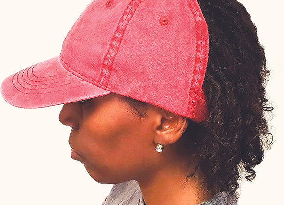 Red Women's Dreadlocks Cap