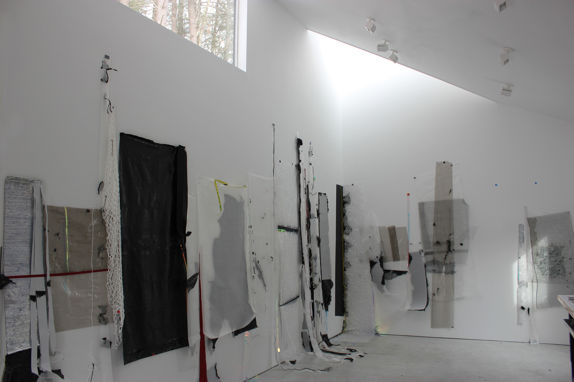 Interior with Gelah's works