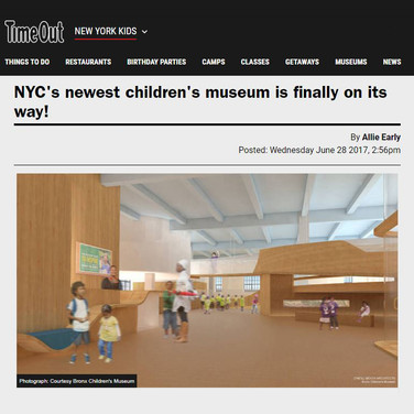NYC's newest children's museum is finally on its way!