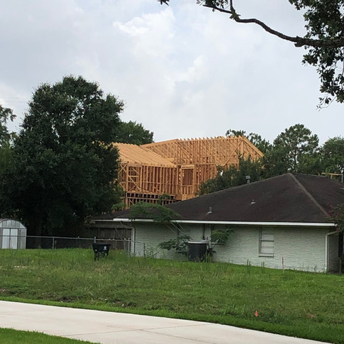 Mazella House tops out!
