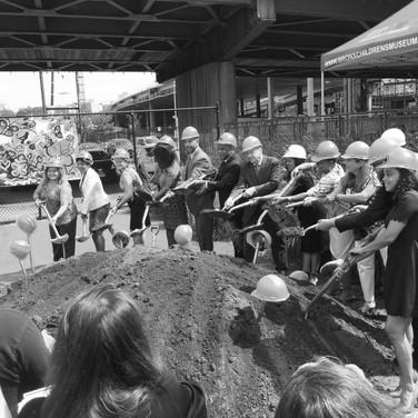 Groundbreaking held for new Bronx Children's Museum