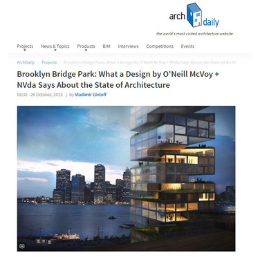 Brooklyn Bridge Park: What a Design by O'Neill McVoy + NVda Says About the State of Architecture