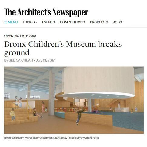 Bronx Children's Museum breaks ground