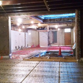 Clinton Hill Courtyard House starts construction