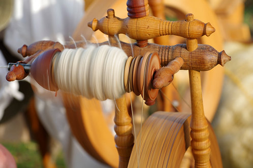 Beginning Spinning on a Wheel with Jill Dahle