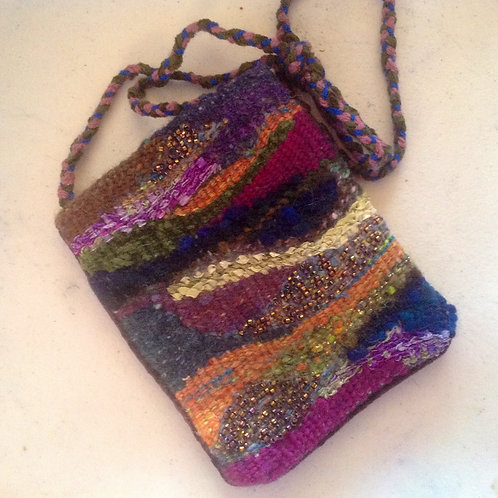 Tapestry Beaded Bag with Joan Contraman