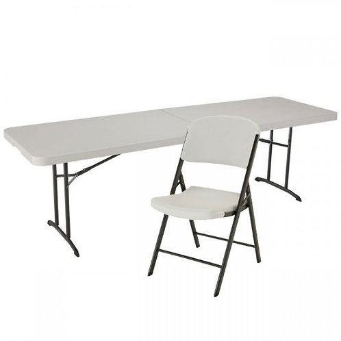 Rental table with 2 chairs