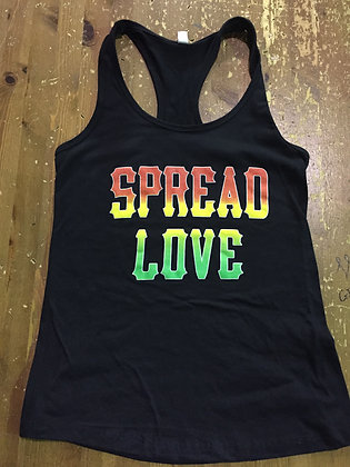 Spread Love Dancehall Racerback
