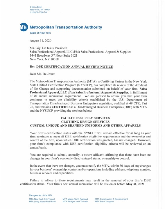 DBE REcertification 2020-Page 1