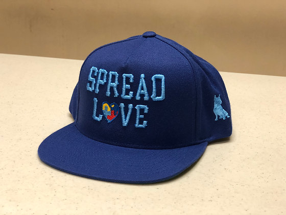 Limited Autism Royal Baby Blue Snapback
