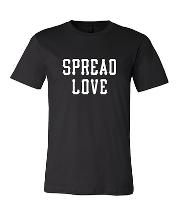 Youth Black & White Spread Love TEE